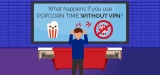 What happens when you're using Popcorn Time without VPN – Best VPN for Popcorn Time